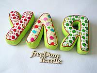 Мягкие буквы-подушки, фото 1
