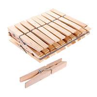 Прищепки деревянные (20шт) 7см