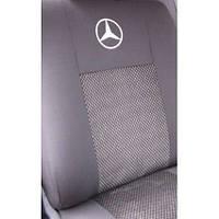 Чехлы в салон модельные для Mercedes Sprinter 2000-2005 (1+2) (LUX)