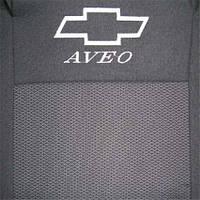 Чехлы в салон модельные для CHEVROLET Aveo T200/T250 седан (LUX)