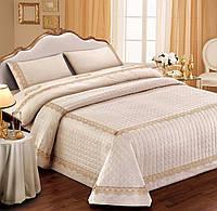 """Двуспальный комплект постельного белья со стеганным покрывалом DIBENEDETTO """"ELENA"""""""
