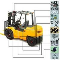 Запасные части (Запчасти) к японским вилочным погрузчикам Toyota, Nissan, Caterpillar, Mitsubishi и др.