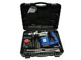 Перфоратор бочковой Витязь ПЭ-1600 с набором в кейсе, фото 2