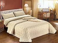 """Двуспальный комплект постельного белья со стеганным покрывалом DIBENEDETTO """"SONIA"""""""
