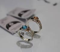 Серебряное кольцо -Мини, 925 проба (Склад-2)