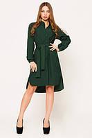 Женское темно-зеленое платье Евгения Leo Pride 42-48 размеры