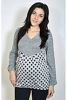 Трикотажная кофта для беременных