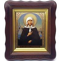 Фигурная икона Ксения Петербургская поясная