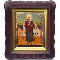 Фигурная икона Ксения Петербургская ростовая