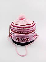 Дитяча шапка з 46 по 50 розмір в'язана дитячі шапки демісезонні, фото 1
