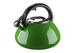 Эмалированный чайник 2,6 л Colorito Verde
