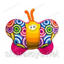 """Антистрессовая игрушка мягкая  """"Бабочка розовая"""""""