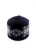 Вязаная шапка тонкая