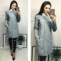 Пальто женское, модель  739/2,  серый, фото 1