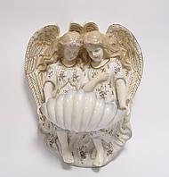 Фарфоровая статуетка ангелы и святая вода