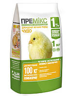 Премикс ЧУДО 1% цыплята,утята 1 кг
