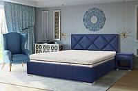 Кровать Веста с мягким изголовьем и подъемным механизмом, фото 1