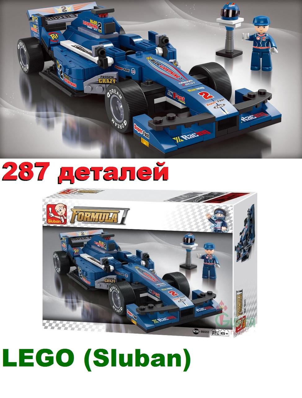 Konstruktor Lego Lego Sluban Formula 1 Gran Pri 287 Detalej