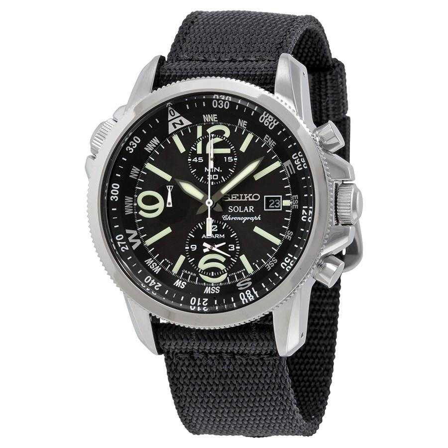 Часы Seiko SSC135P1 хронограф SOLAR