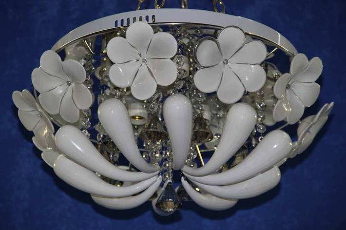 Светодиодная люстра с пультом управления (ВЛ)   L9309/5 (CR), фото 2