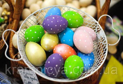 деревянные пасхальные яйца заготовки купить