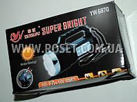 Светодиодная аккумуляторная фонарь-лампа на солнечной батарее - Yawang Solar Super Bright YW-6870
