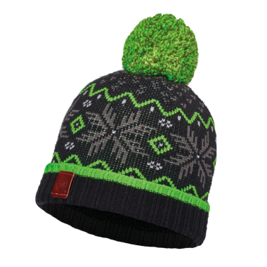 Шапка Buff Junior Knitted & Polar Hat nester black