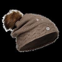 Шапка Buff Junior Knitted & Polar Hat darsy brown