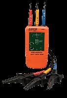 Индикатор Extech 480403 порядка чередования фаз трехфазных источников питания и направления вращения двигателя