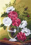 Канва с рисунком для вышивки крестом Любовь и страсть