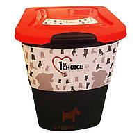 Фирменный контейнер для хранения корма (Фест Чойс) 1st Choice