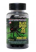 Black Spider 25 Ephedra Cloma Pharma 100 caps. ***