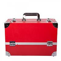 Алюминиевый кейс для косметики - CaseLife А-61 Красный Матовый - A61-RED-M