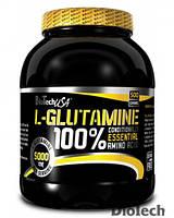 Аминокислота 100% L-glutamine BioTech USA 1000 грамм