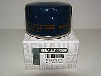 Фильтр масляный  Kangoo 1.9D/1.5dCi/1.4i/1.6i/Trafic/Vivaro h=50mm (низкий), RENAULT