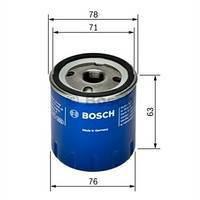 Фильтр масляный Renault Trafic 1.9DCI/Kangoo 1.5dCi/1.9D, BOSCH