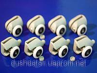 Комплект роликов для душевой кабины ( В-43 А+В ) 28 мм