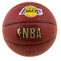 Мяч баскетбол Spelding NBA Lakers