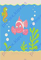 """Ковер для детской комнаты """"Рыбка"""". Купить детский ковер онлайн"""