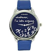 Наручные часы Я не опаздываю синие