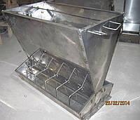 100% нержавейка. Кормовой автомат на 12 секций для 60 голов свиней на доращивании от 5 до35 кг(КС226)