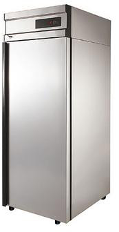 Холодильник нерж Polair CM107-G