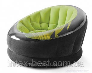 Кресло 112х109х69 см, EMPIRE CHAIR, Intex 68582NP Зелёное, фото 2