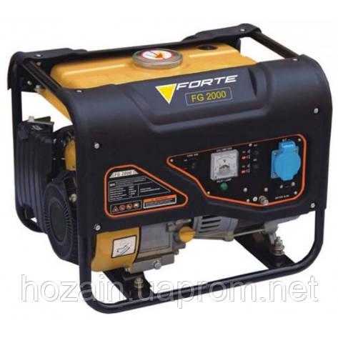 Бензиновий генератор FORTE FG2000, фото 2