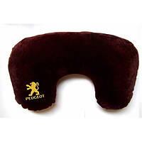 Подушка-рогалик для шеи Peugeot