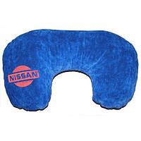 Подушка-рогалик для шеи Nissan