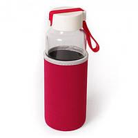 Бутылка для напитков стеклянная Millennium 450 мл с термочехлом