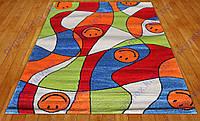 """Ковер для детской комнаты """"Смайлики"""". Детские ковры с высоким ворсом"""