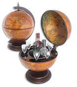 Глобус-бар 36002 R(Диаметр сферы -360 мм. )