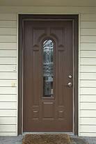 Двери входные со стеклопакетом и ковкой, фото 2